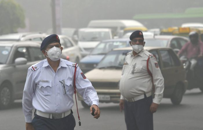 Smog and pollution in Delhi NCR